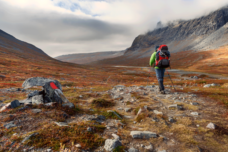 sweden-kungsleden-hiking-trail-lapland