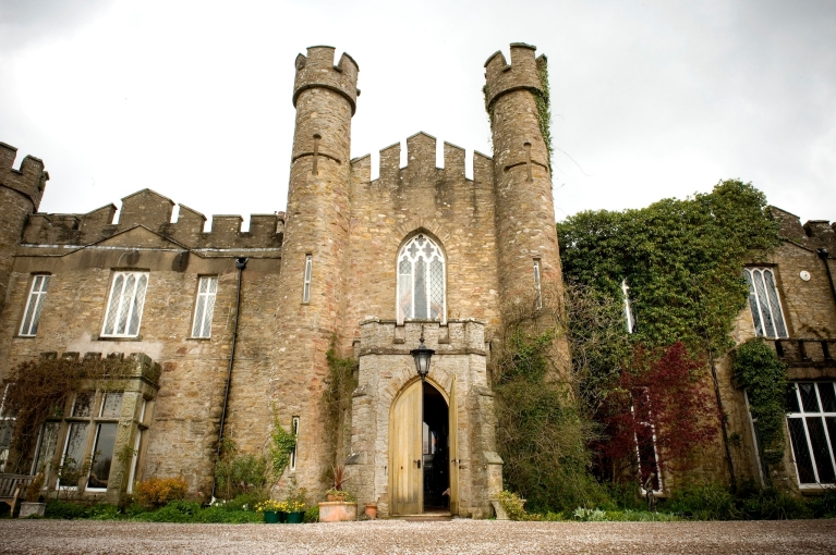 Airbnb castle accommodation in the UK