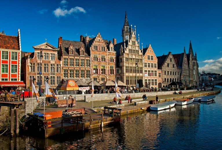 Old town of Ghent