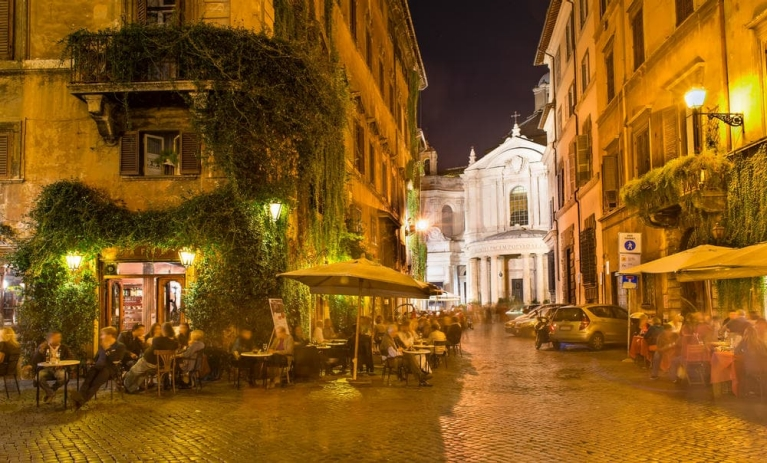 Terraces in Rome | 24 hours in Rome