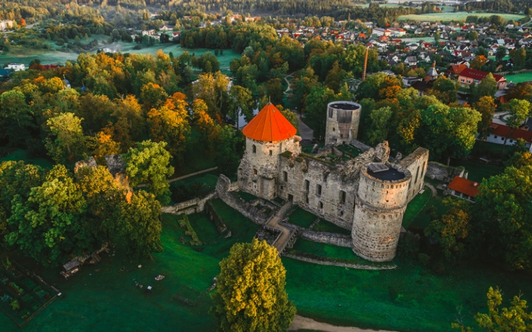 Cesis Latvia Castle