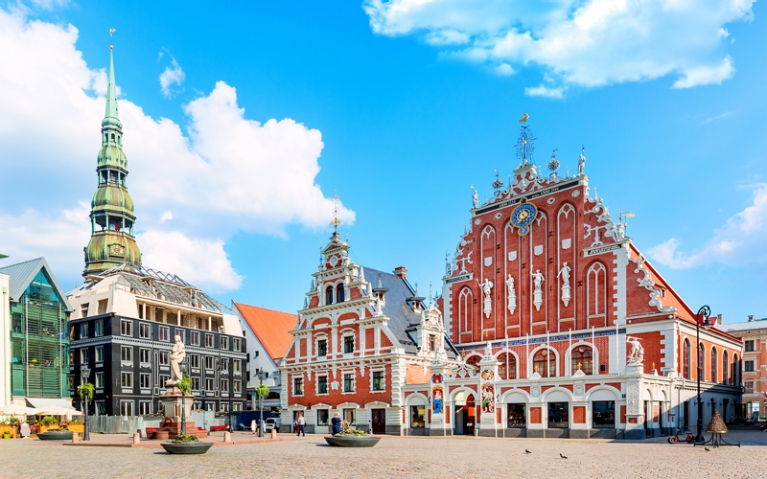 Riga Latvia main square